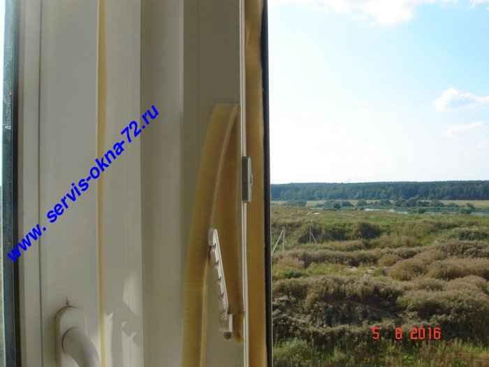 Замена уплотнителя на пластиковых окнах Тюмень.