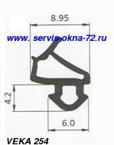 Замена уплотнителя ВЕКА для пластиковых окон и дверей Тюмень.