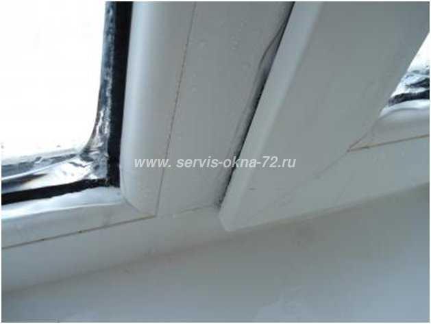 Раздвижные пластиковые окна на балконе промерзают причина..