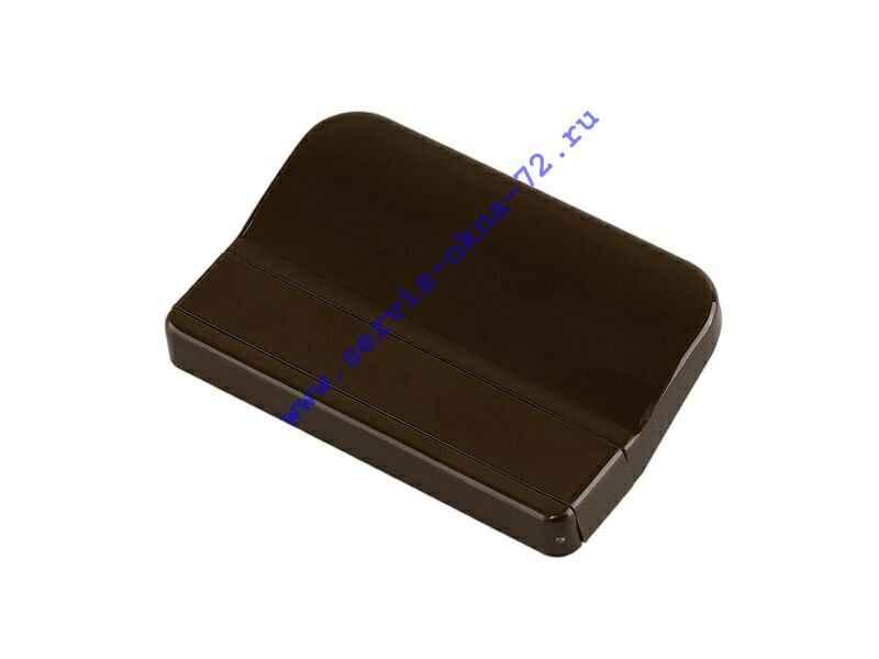 Ручка балконная пластиковая Elementis коричневая Тюмень