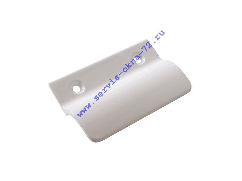 Ручка балконная Internika алюминиевая белая Тюмень