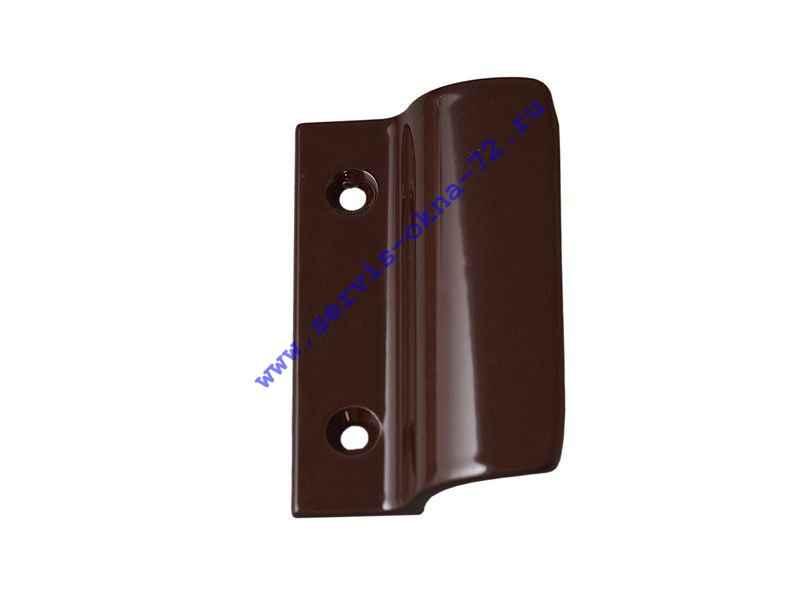 Ручка балконная Internika алюминиевая коричневая Тюмень