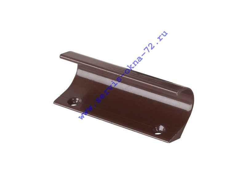 Ручка балконная Twist (пр-во Россия) алюминиевая коричневая Тюмень
