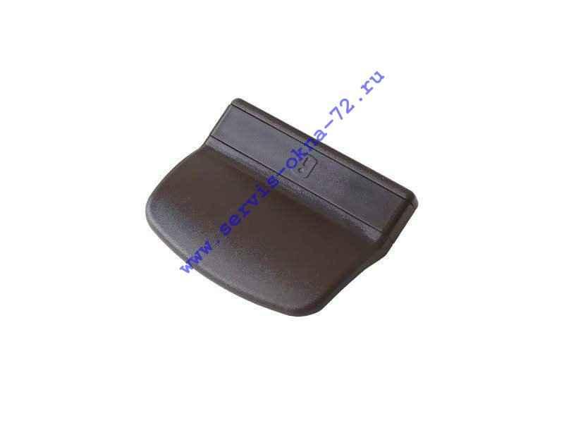 Ручка балконная пластик ABS Internika коричневая Тюмень
