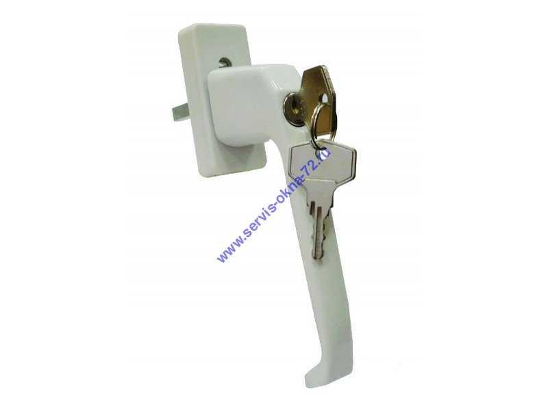 Ручки с ключом для окон недорого Тюмень